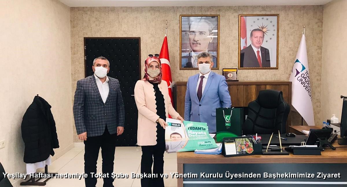 İl Sağlık Müdürlüğünden Yeşilay Haftası Ziyareti